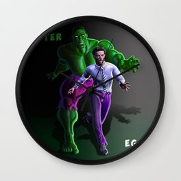 Bruce's Alter Ego Wall Clock