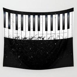 Jazz Piano Wall Tapestry