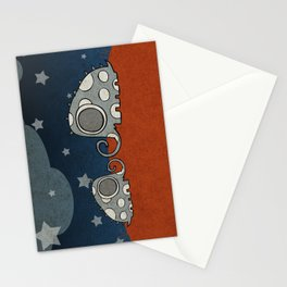 The Night of Grey Elephants Stationery Cards