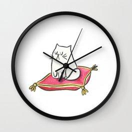 Fancy Kitty Wall Clock