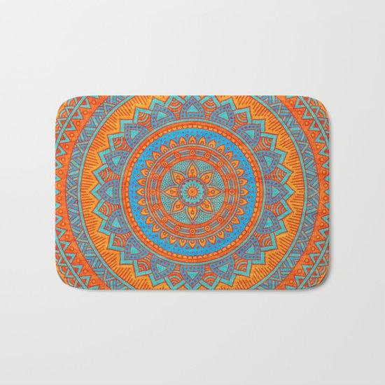 Hippie mandala 66 Bath Mat
