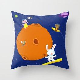 Space Fun Throw Pillow