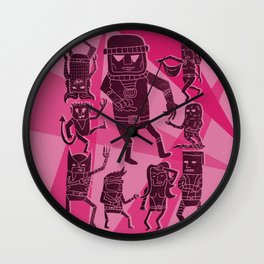 Danger Room Wall Clock