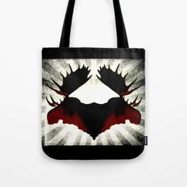 Moose Heads Tote Bag