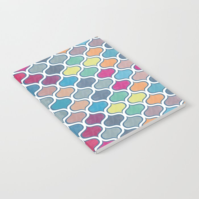 Watercolor Lovely Pattern VVX Notebook