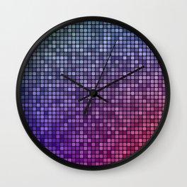 Colorful mosaic Wall Clock