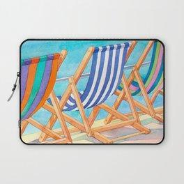Beach Chairs 1 Laptop Sleeve