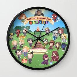 M A R V E L B-Day Wall Clock