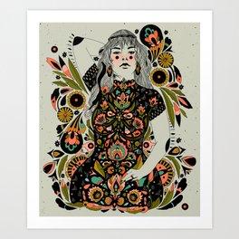 Childbearing Art Print