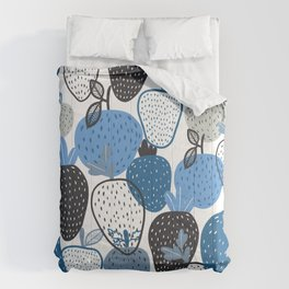 Strawberry Illustration Pattern Comforters