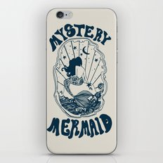 MYSTERY MERMAID iPhone & iPod Skin