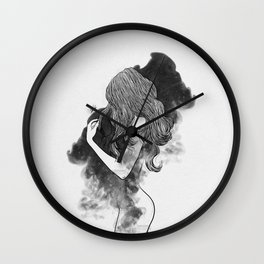 The gates of darkness. Wall Clock