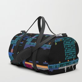 Space Platformers Duffle Bag