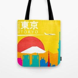 Travel to Tokyo Tote Bag