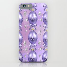 The Joy of Christmas - Purple iPhone Case