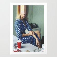 Vogue #19 Art Print