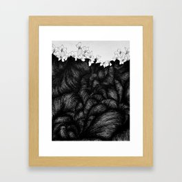 Sometimes the world is too big and I live underground 2 Framed Art Print
