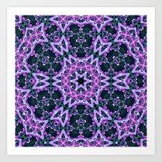Lavender and Ivy Art Print