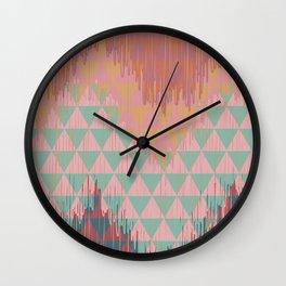 IKAT GEOMETRIE II Wall Clock