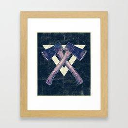 Lumber men Framed Art Print