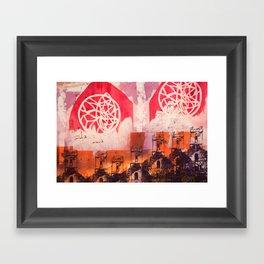 Below Deck Framed Art Print
