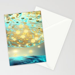 Human neuron structure Stationery Cards