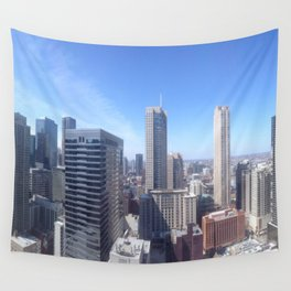 Rooftop Jams Wall Tapestry
