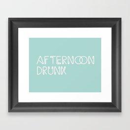 Afternoon Drunk Framed Art Print
