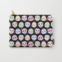 Day of the Dead Sugar Skulls Carry-All Pouch