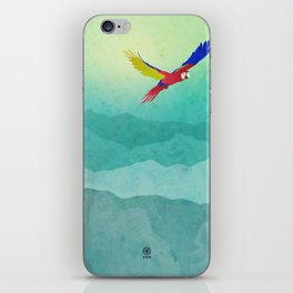 Macaw (Guacamaya) iPhone Skin