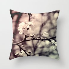Tree Blossom Throw Pillow