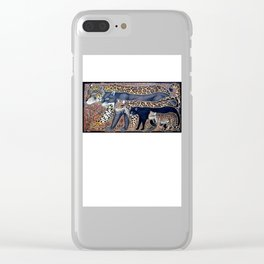 Big cats of Costa Rica Clear iPhone Case