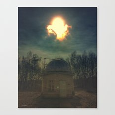 little old observatory Canvas Print