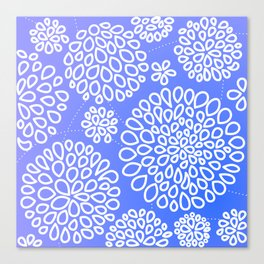 Periwinkle blue or purple Canvas Print