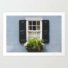 Charleston Window Art Print