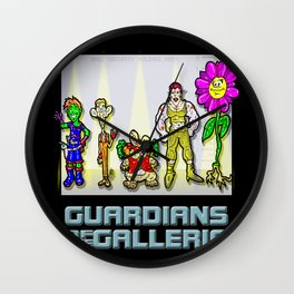 Marvels Guardians of the Galaxy... I mean, THE GALLERIA!!! A Parody Cartoon! Wall Clock