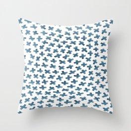 Molecule6 Throw Pillow