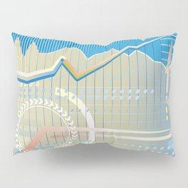 financial background Pillow Sham