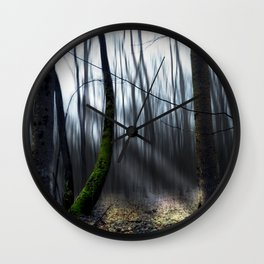 Searching the light Wall Clock