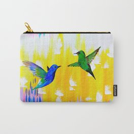 Hummingbird Sunrise Carry-All Pouch