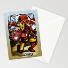 Man of Iron Stationery Cards