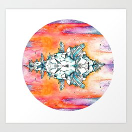 Crystal Dawn Art Print