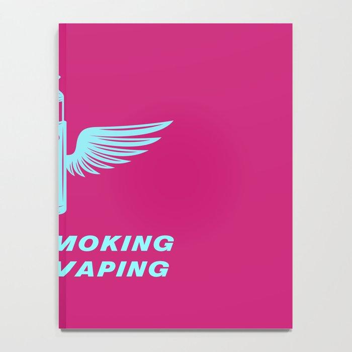 Stop Smoking Start Vaping 80s Vaping Notebook