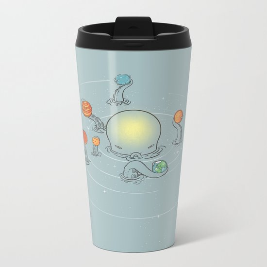 Solar System Metal Travel Mug