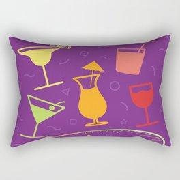 Happy Hour Cocktail Rectangular Pillow