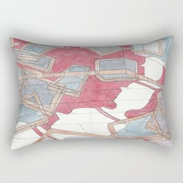 Everything is moving out Rectangular Pillow