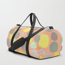 Abstract Multi-colored Circles Duffle Bag