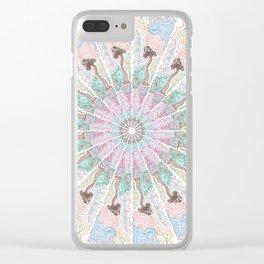 Titleless Mandala Clear iPhone Case