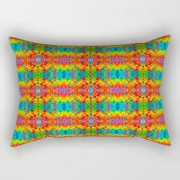Rainbow Fizz Rectangular Pillow