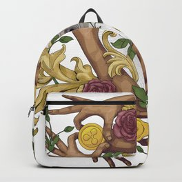 Hands and Coins Backpack